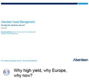 Aberdeen cover presentation slide