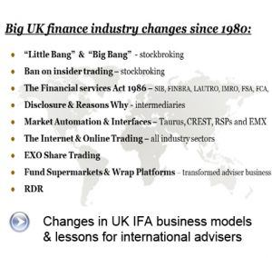 Changes in UK IFA business models_