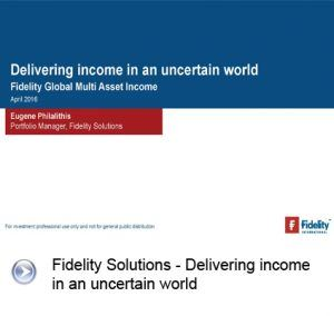 Fidelity cover presentation slide