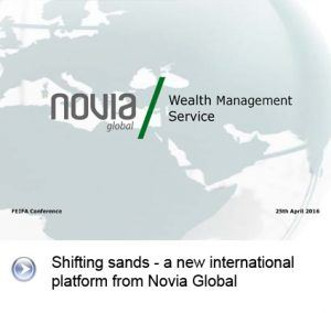 Novia Global cover presentation slide